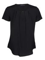 Siyah Kısa Kollu Bluz