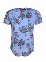 Kısa Kollu Desenli T-Shirt