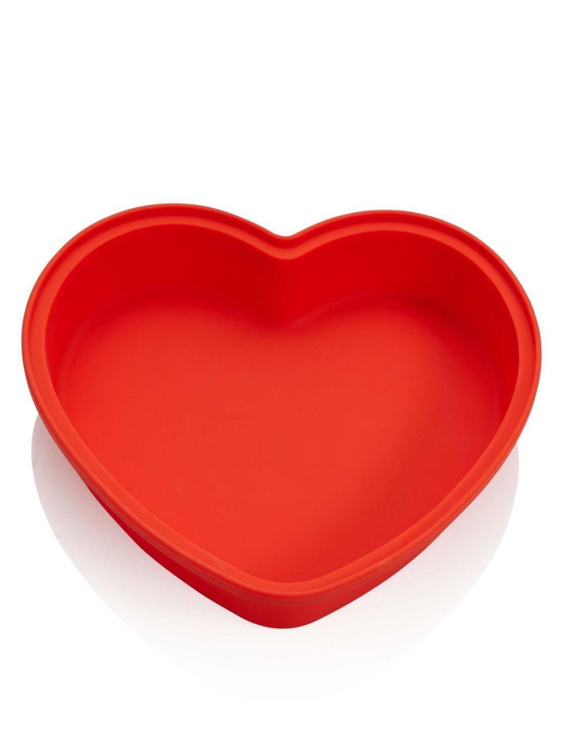 Kalp Şekilli Kek Kalıbı