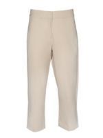 Kadın Gri Pamuklu Slim Pantolon