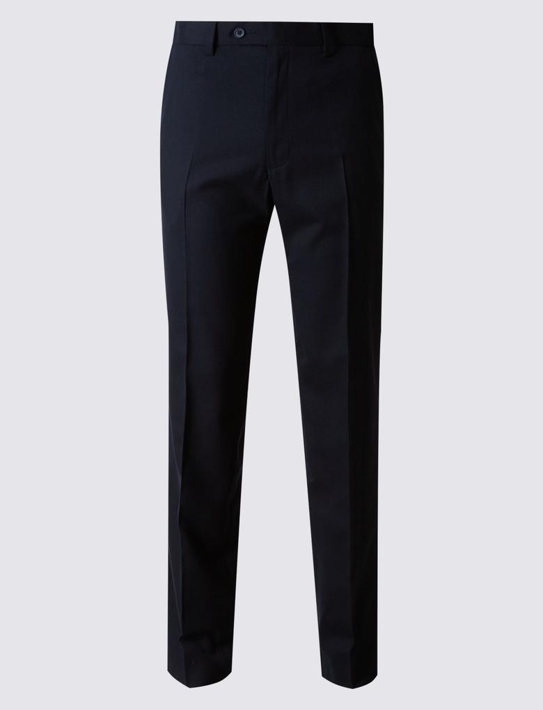 Tailored Fit Yünlü Pantolon