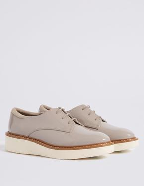 Düz Topuklu Deri Ayakkabı (Insolia® Teknolojisi ile)