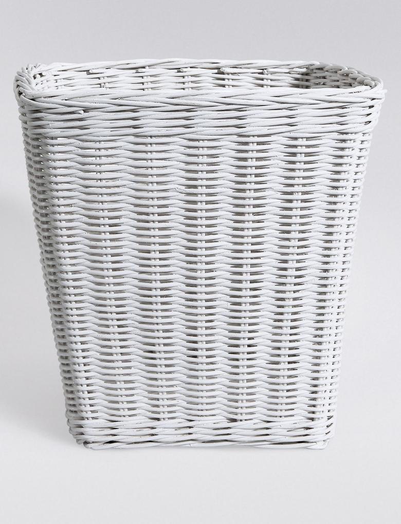 Beyaz Çöp Kutusu