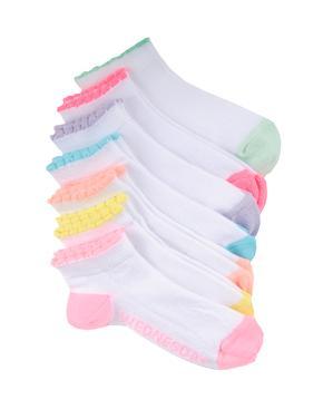 Kız Çocuk Multi Renk 7'li Çorap
