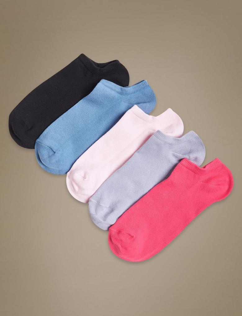 Pembe 5'li Çorap Seti