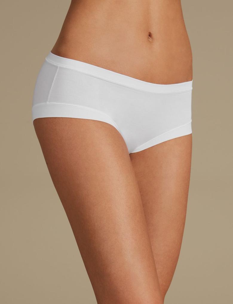 Modal Karışımlı Flexifit™ Düşük Belli Short Külot