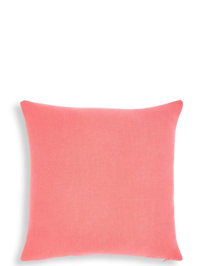 Pembe Düz Renk Yastık
