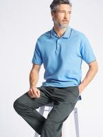 Saf Pamuklu Regular Fit Polo Yaka T-Shirt