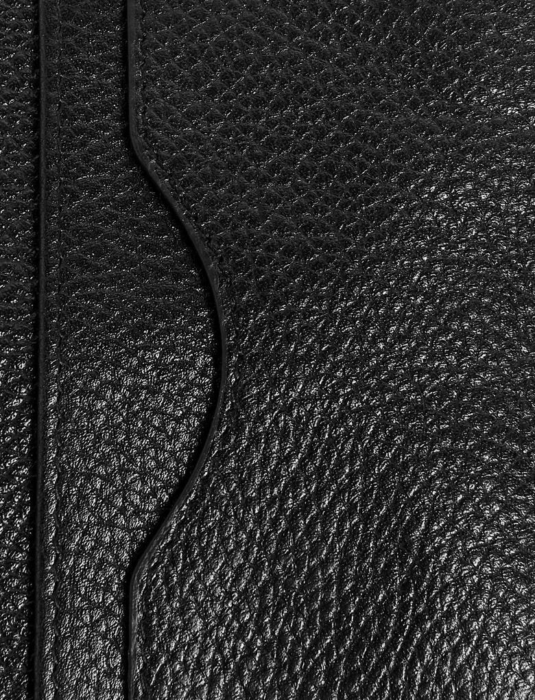 Siyah Deri Kartlık Cüzdan