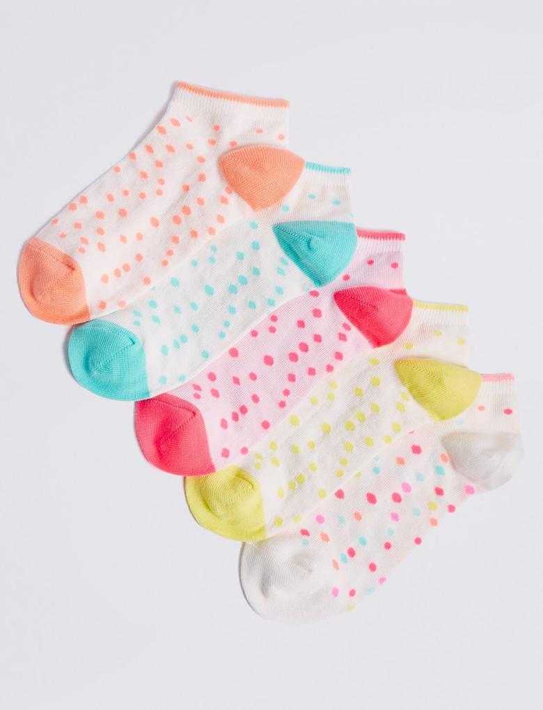 Multi Renk 5'li Çorap