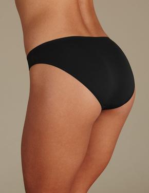 5'li İz Bırakmayan Mikrofiber Düş Bel Bikini Külot