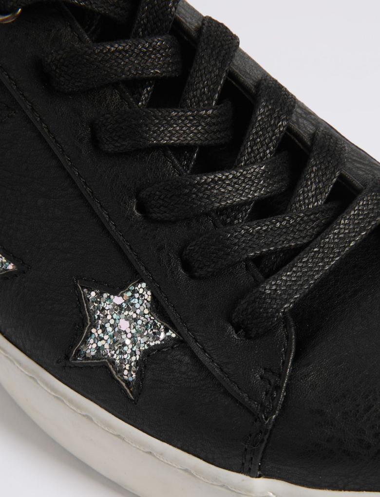 Yıldız Desenli Spor Ayakkabı (Insolia Flex® Teknolojisi ile)