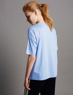 Kısa Kollu Cepli T-Shirt