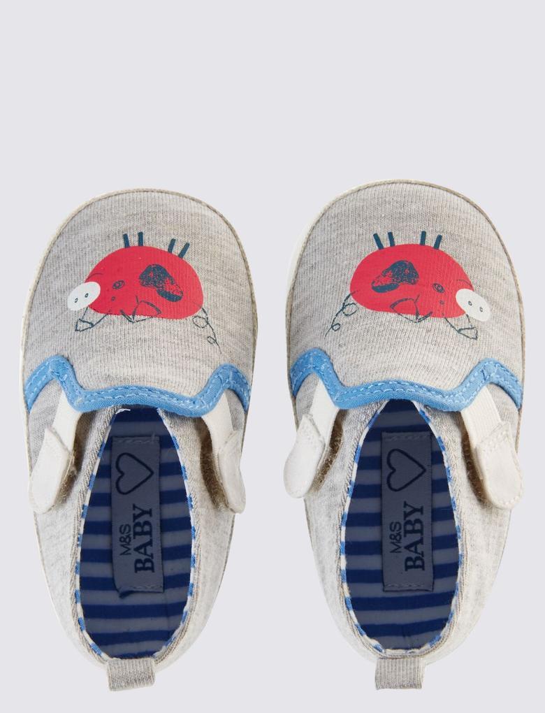 Cırtcırtlı Bebek Ayakkabısı