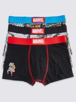 3'lü Marvel™ Trunk Boxer