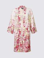 Multi Renk Çiçek Desenlİ Kimono