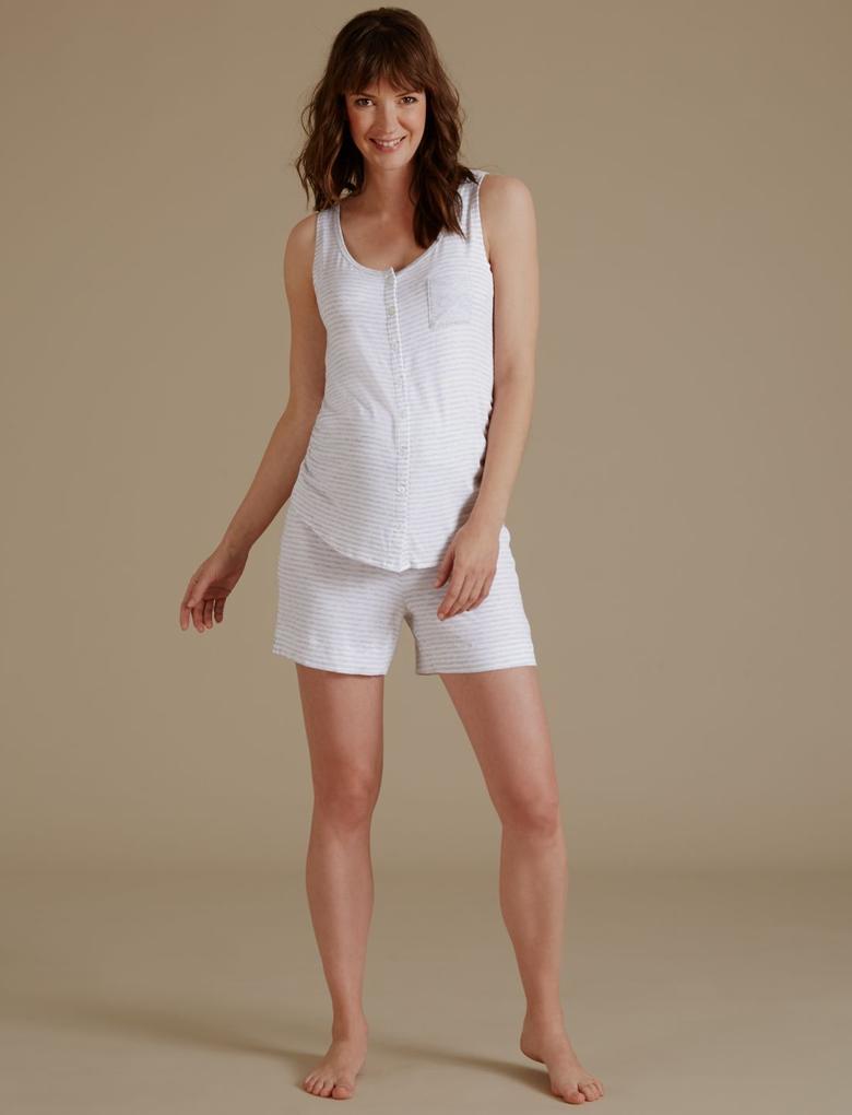 Hamile Şort Pijama