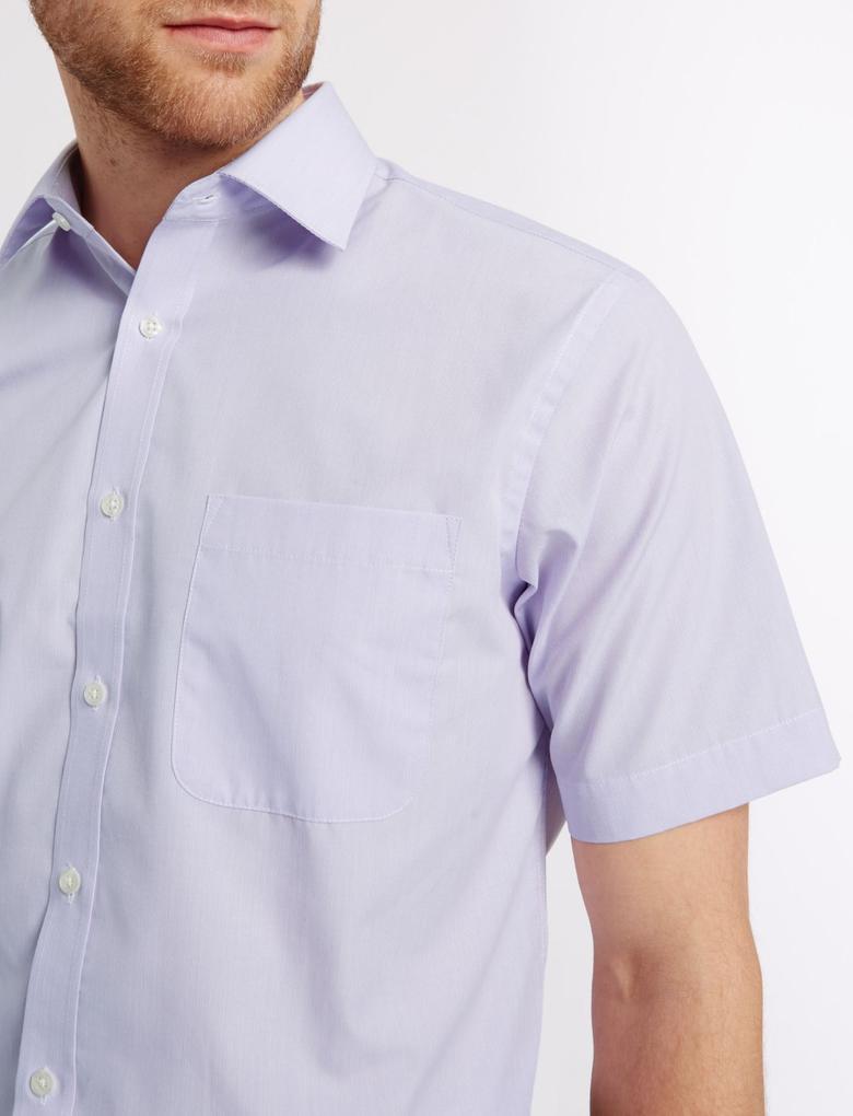 Kolay Ütülenebilir Pamuklu Gömlek