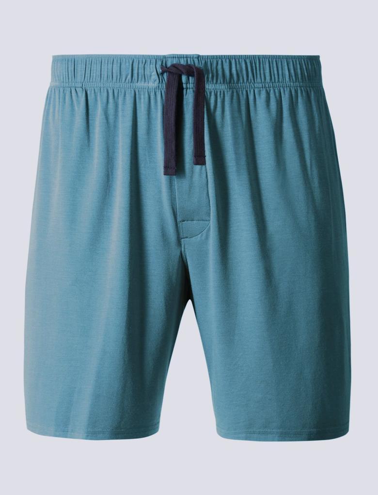 Yeşil Micromodal™ Pijama Altı
