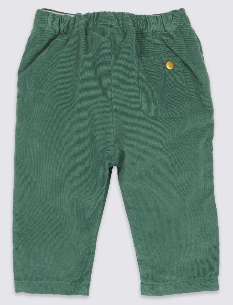 Yeşil Marie Chantal - Kadife Pantolon