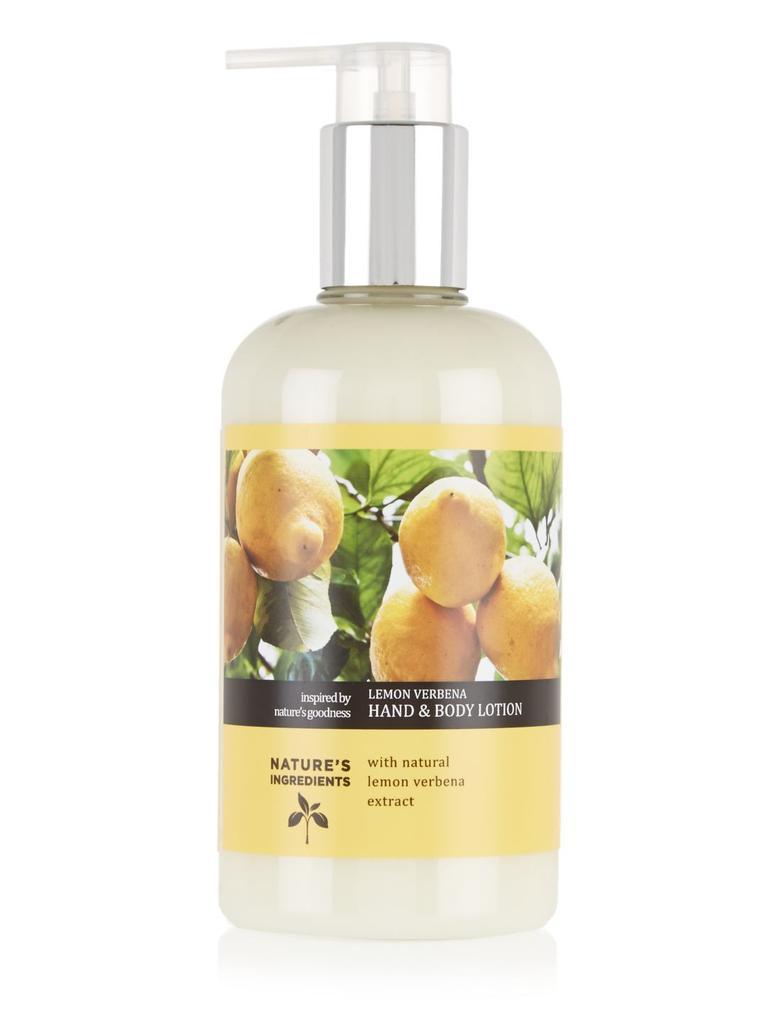 Kozmetik Renksiz Lemon Verbana El ve Vücut Kremi 300ml