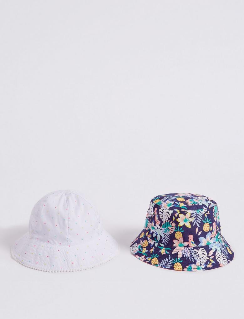 Multi Renk 2'li Şapka