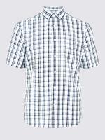 Easy Care Modal Karışımlı Ekose Gömlek