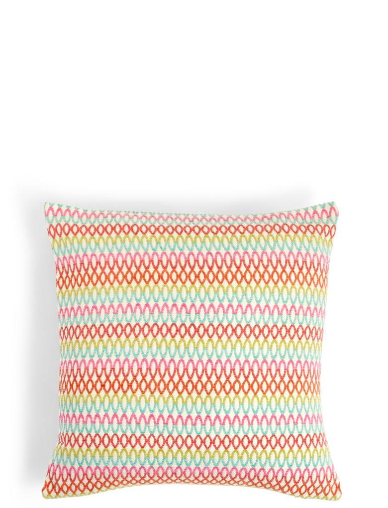 Multi Renk Desenli Şönil Yastık