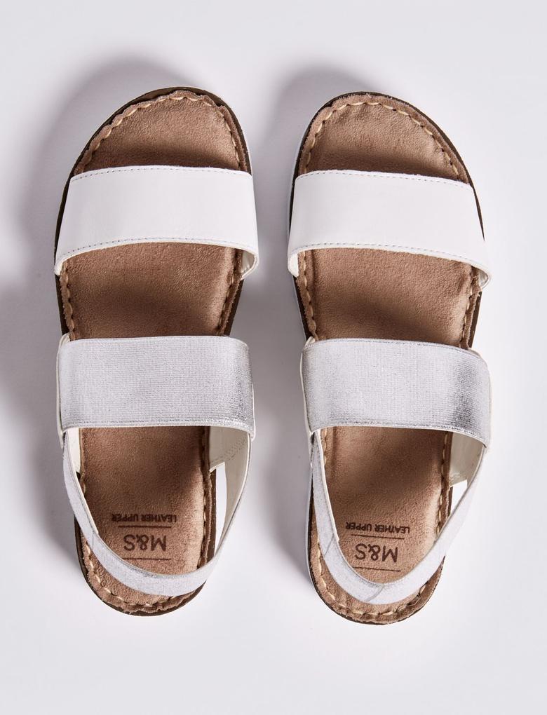 Deri Açık Ayakkabı