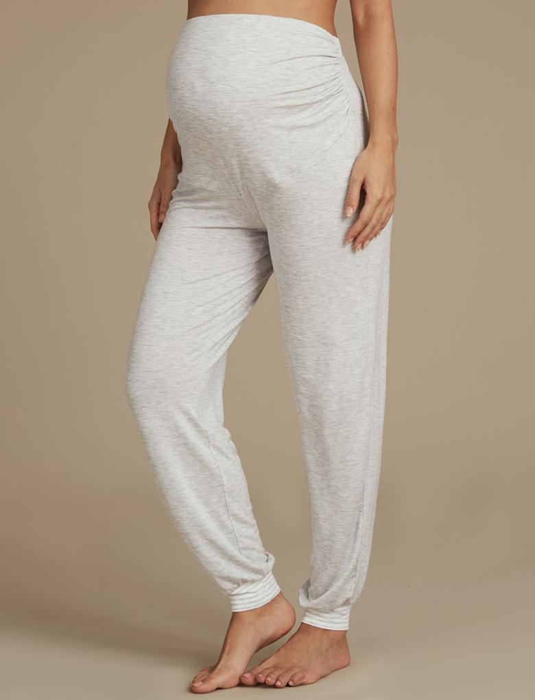 Gri Hamilelik Pijama Altı