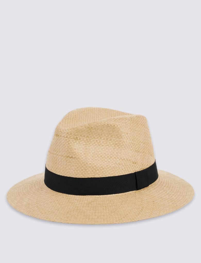 Kahverengi Hasır Şapka
