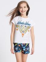 Wonder Woman™ Saf Pamuklu Pijama Takımı