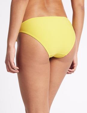 Sarı Hipster Bikini Altı