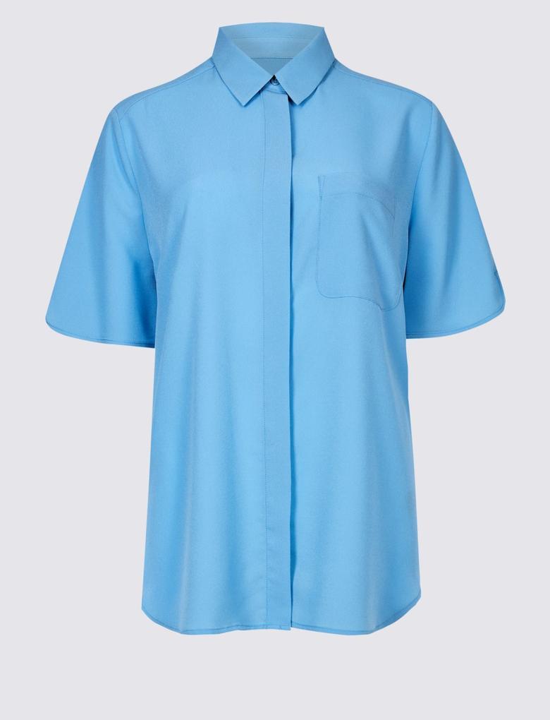 Yarım Kollu Gömlek