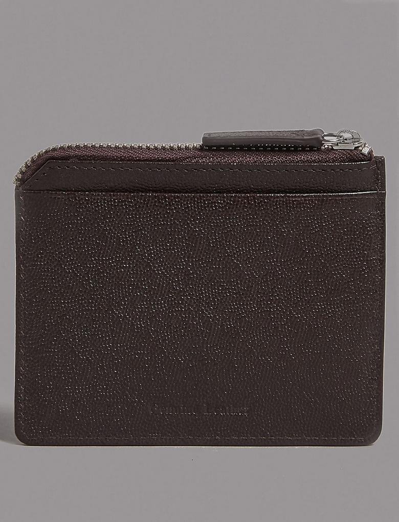 Kahverengi Deri Kartlık (Cardsfe Teknolojisi™ ile)