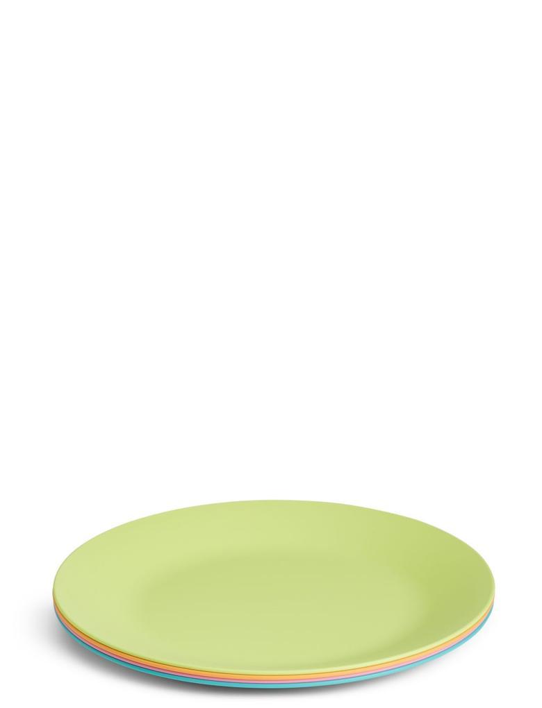 Multi Renk 4'lü Piknik Tabağı