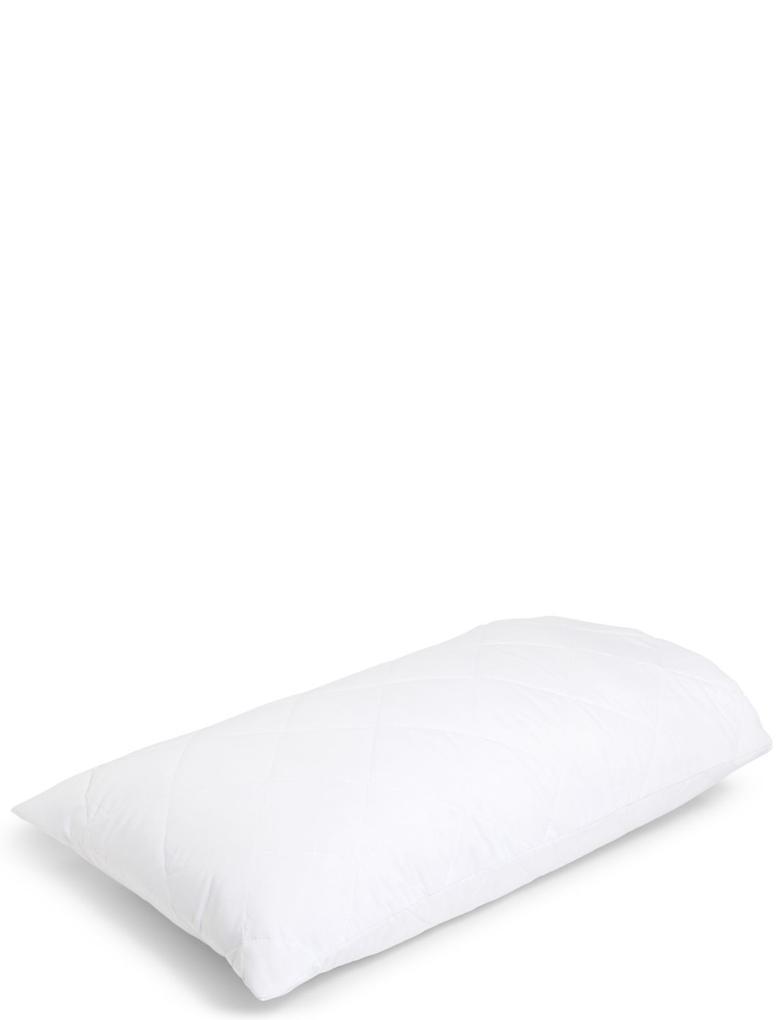 Beyaz Lavanta Kokulu Yastık Kılıfı