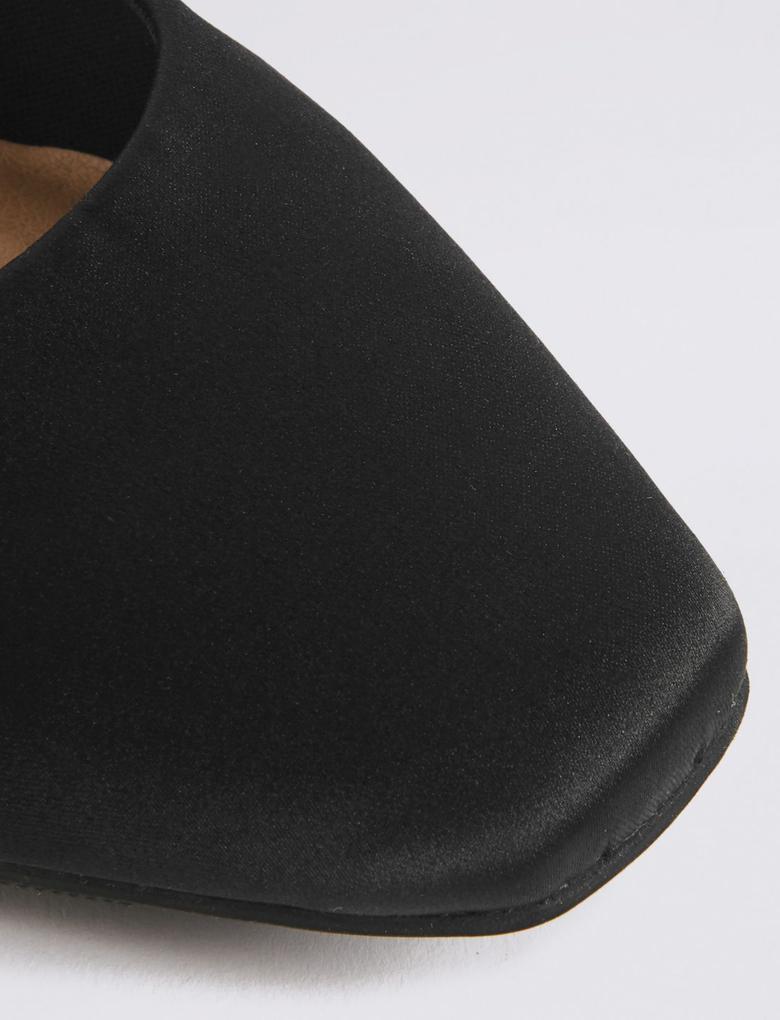 Yuvarlak Burunlu Düz Taban Ayakkabı