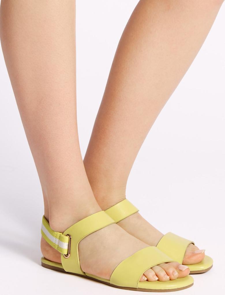 Arkası Elastik Açık Ayakkabı