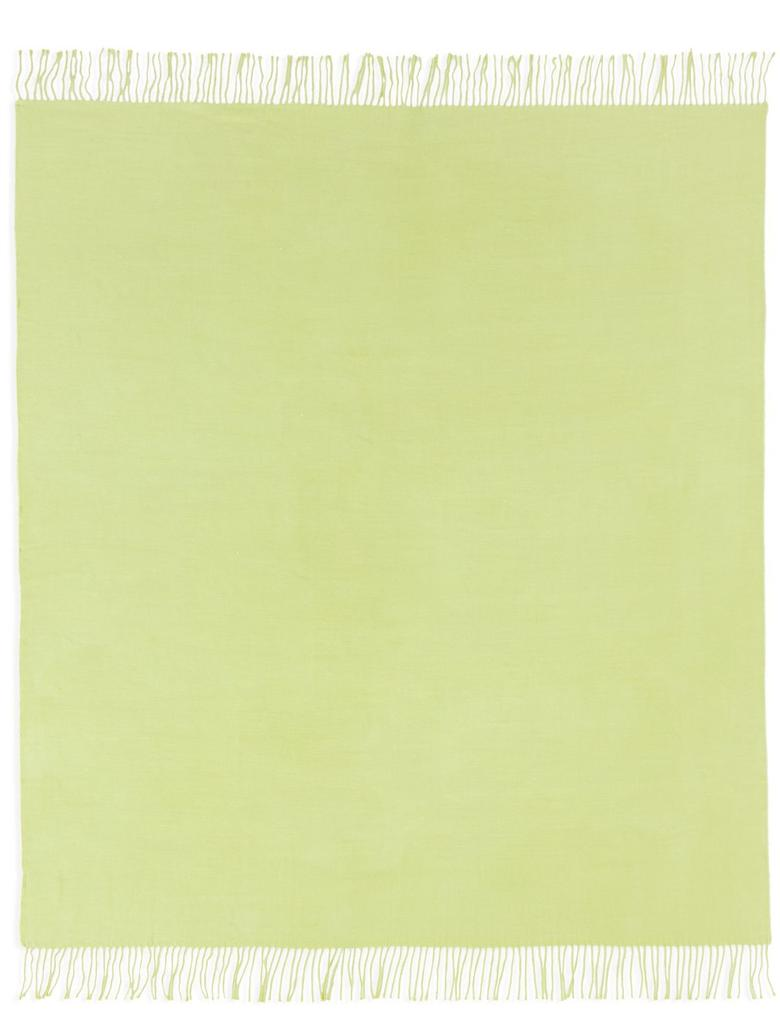 Yeşil Yumuşak Koltuk Şalı