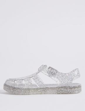 Işıklı Jel Açık Ayakkabı