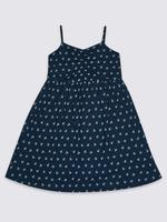 Pamuklu Streçli Elbise