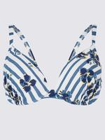 Balensiz Desenli Bikini Üstü