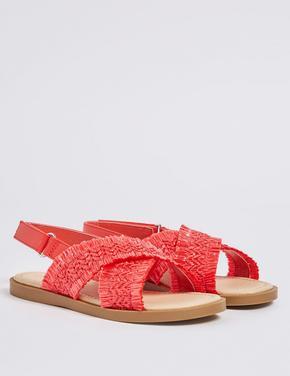 Cırtcırtlı Açık Ayakkabı