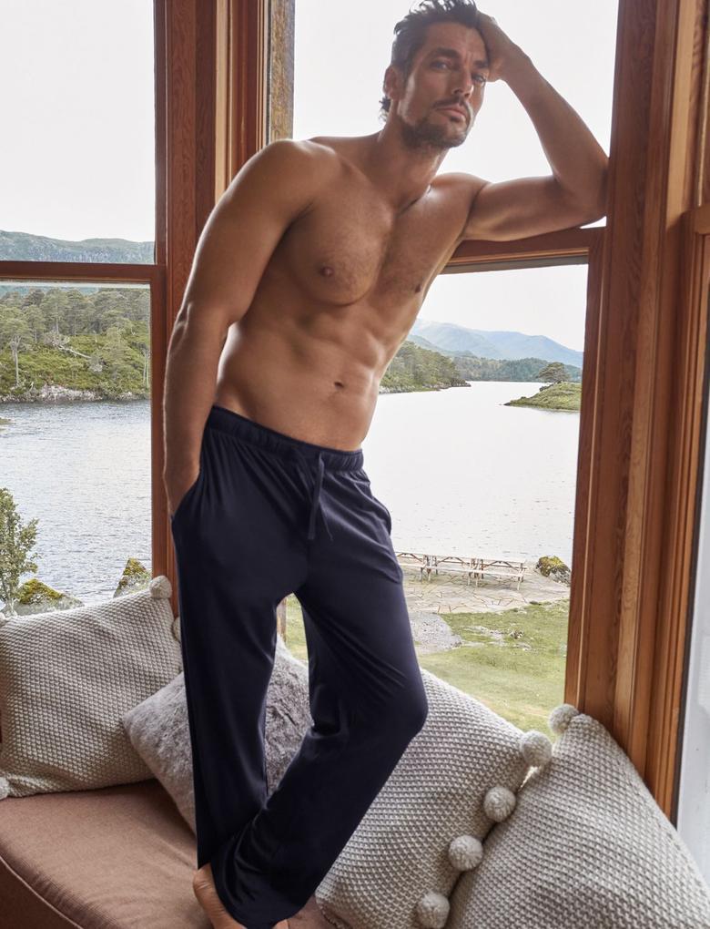 Supima® Modal Karışımlı Pijama Altı