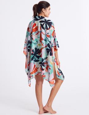 Desenli Çok Yönlü Elbise