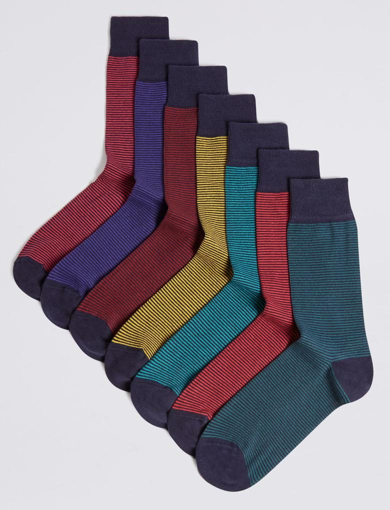 7'li Cool & Freshfeet™ Çorap