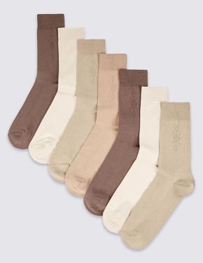 7'li Cool & Freshfeet™ Pamuklu Çorap