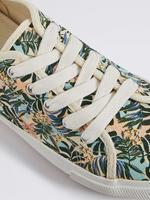 Multi Renk Desenli Kanvas Spor Ayakkabı