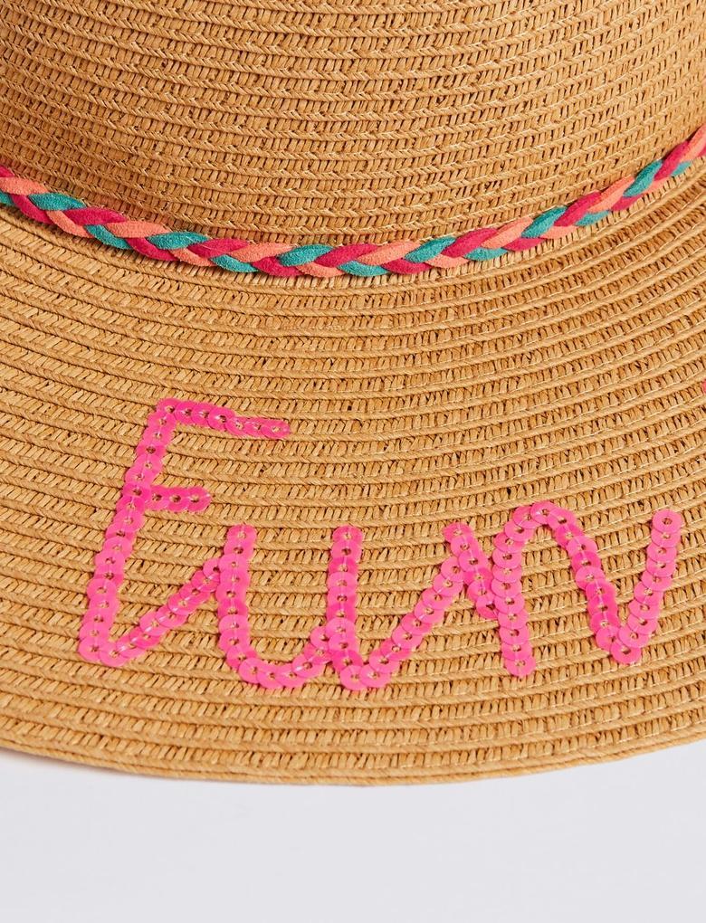 Fun In The Sun Hasır Şapka